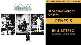Genesis - Broadway Melody of 1974 - 5.1Stereo