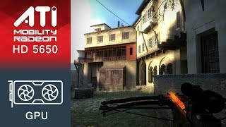 Half-Life 2 Lost Coast Gameplay ATI Mobility Radeon HD 5650