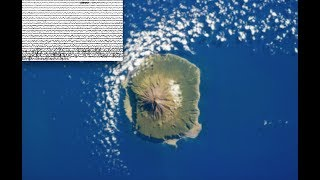 """The worlds most remote inhabited volcanic island is stirring! 