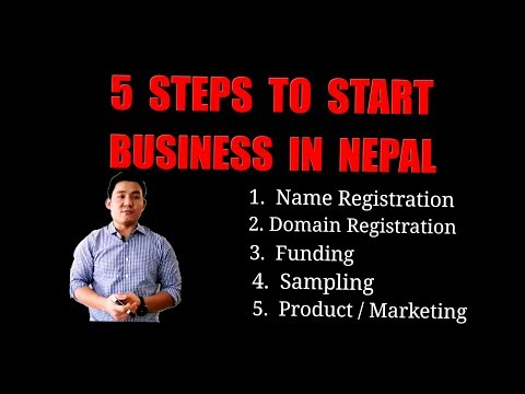 Basic Step To Start Business.Process Of Starting Business In Nepal. Online Company Register In Nepal