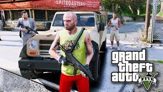 វគ្គប្លន់ធនាគាថ្មី - GTA 5 Mod Bank Robbing Khmer