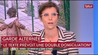 Garde alternée : « Le texte prévoit une double domiciliation » selon Caroline Abadie