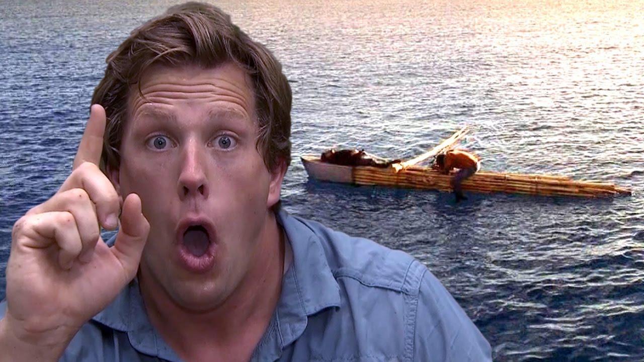 Freek Vonk Op Zee Raft Youtube