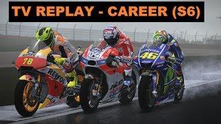 MotoGP 17 | CAREER RACE #104 | MotoGP | BRITISH GP | 12/18 | TV REPLAY | GAME