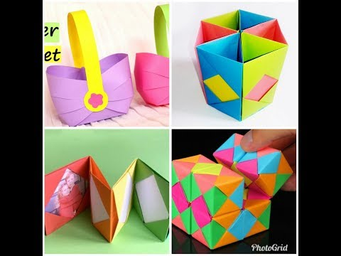 8-diy-paper-crafts-|-easy-crafts-ideas-at-home-|-paper-crafts-for-kids-|-8-origami-crafts