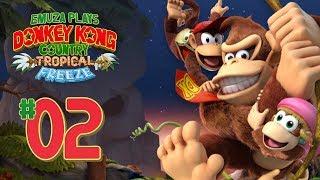 Donkey Kong Country: Tropical Freeze | Part 2 - Walkthrough | World 1-2