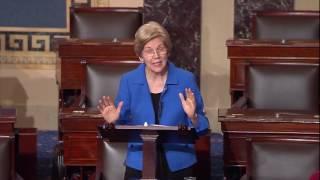Senator Elizabeth Warren on Trump