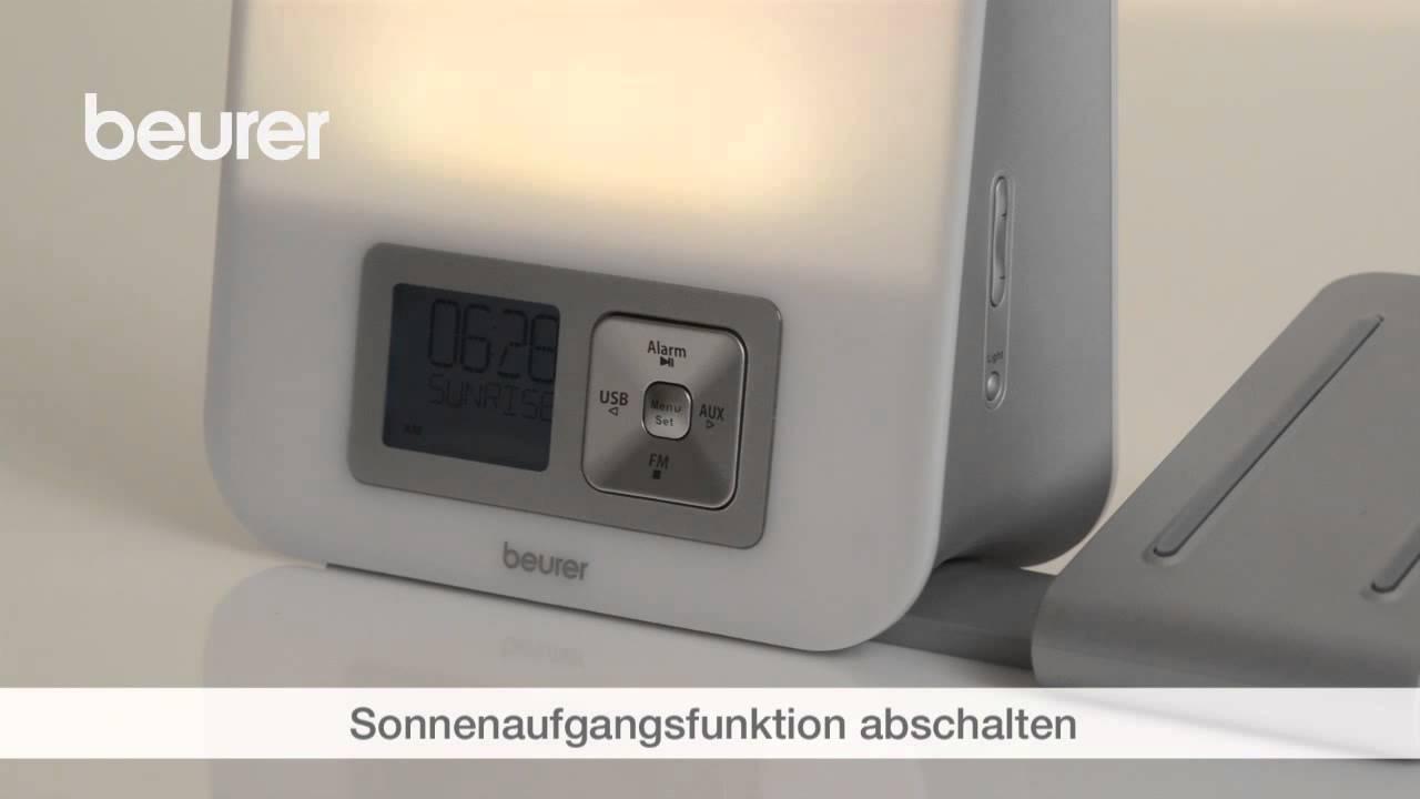 Beurer Wake Up Light.Quick Start Video Des Lichtweckers Wl 80 Von Beurer