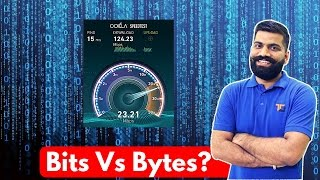 Bits Vs Bytes??? The BIG Difference!!!