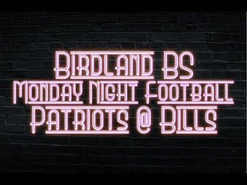Monday Night Football Live Stream Commentary Patriots @ Bills
