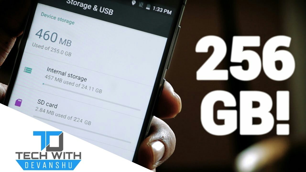 How To Increase Internal Storage Of Any Android Phone Upto 256 GB!2017
