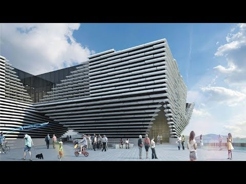 V&A Dundee on the BBC One Show 17/10/17