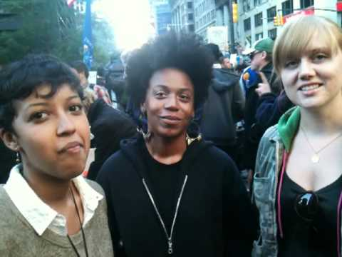 Women at Occupy Wall Street