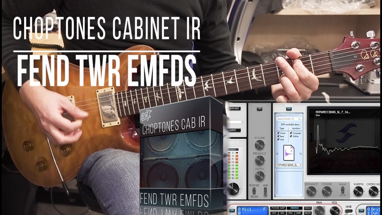Cabinet IR | Fend TWR EMFDS | Playthrough (Fender Twin Reverb + Eminence  Fender Special Design)