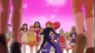 Sanji volando