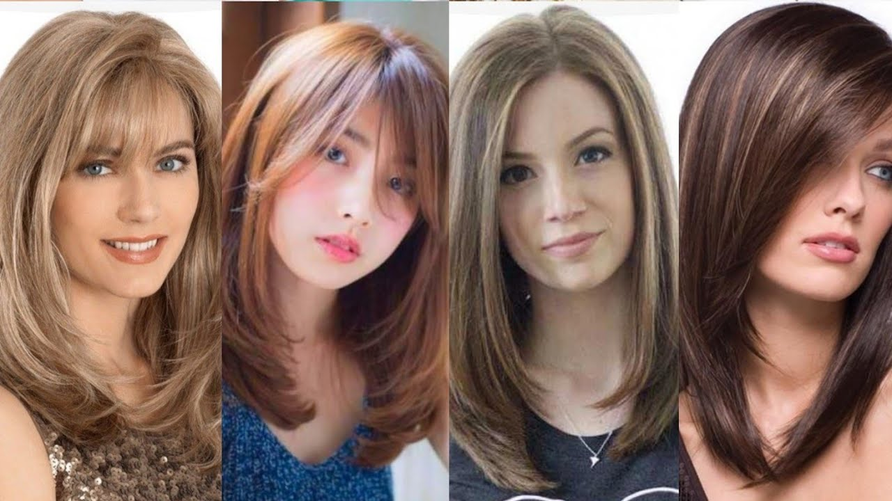 Hair Style For Medium Size Hair Stylish Hair Cutting Style For Girls Youtube