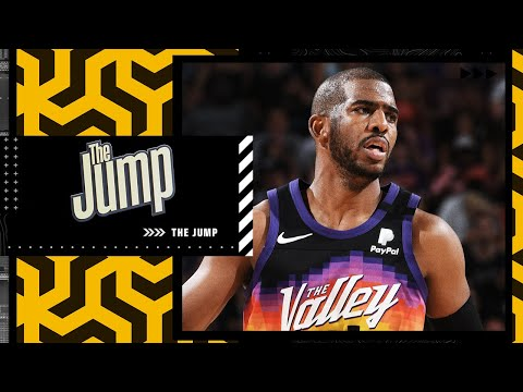 Matt Barnes spoke to Chris Paul this morning after his COVID-19 news | The Jump