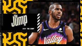 Matt Barnes talked to Chris Paul this morning after his COVID-19 news | The Jump