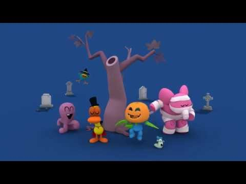 Pocoyo Halloween Party: Ghostbusters Song for Kids