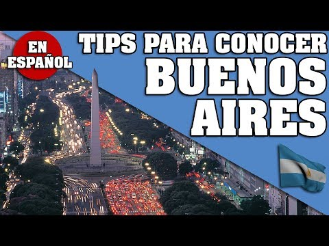 BUENOS AIRES. TODO LO QUE NECESITAS SABER PARA VIAJAR (que conocer, transportes etc) * EN ESPAÑOL