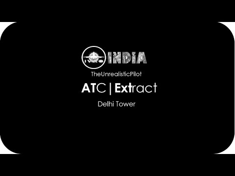 [IVAO IN] ATC Extract (Audio Only) | Delhi Tower