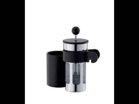 Bodum Bistro Mug Press Personal Coffee and Tea Maker