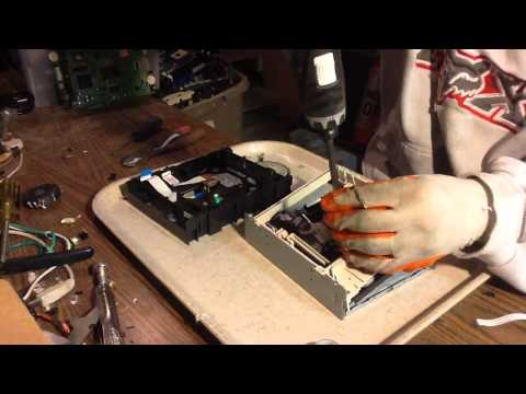 Making Money Scrapping CD/DVD Drives.