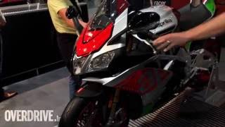 First look_ Aprilia Touno 1100, 1100 Factory, RSV4 showcased at Intermot 2016