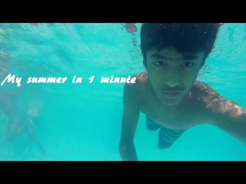 MY SUMMER IN 1 MINUTE! - YouTube