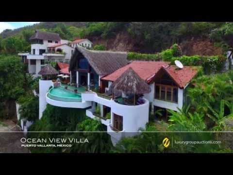 Ocean View Villa Auction: Puerto Vallarta, Mexico