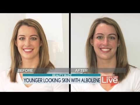 New York Live Beauty Secret with Albolene