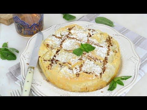 Pastela moruna o pastel árabe de pollo. ¡Deliciosa y muy fácil!