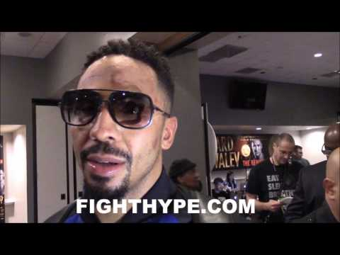 ANDRE WARD EXPLAINS WHY KOVALEV TKO A STATEMENT FOR FIGHTERS NOT GETTING CREDIT THEY DESERVE