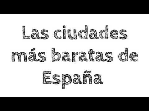 Los Lugares Más Baratos Para Vivir En España Youtube