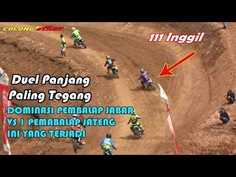 Duel Panjang Pembalap JATENG Inggil 111 VS Para Jawara JABAR