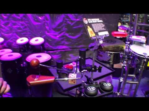 2014 Winter NAMM Latin Percussion Universal Vibraslap Mount