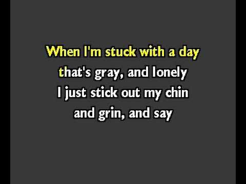 Tomorrow Annie Instrumental Lyrics