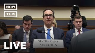 Steve Mnuchin Faces the House Financial Services Committee | NowThis