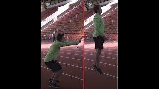 как быстро бегать сначала? #1 Тренировка 100 и 60 метров