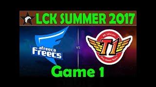 AFS vs SKT Highlights Game 1 - LCK Mùa Hè 2017 [15/7/2017]