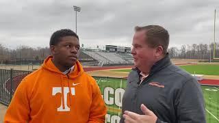 Tennessee Football: Jabari Small talks Tennessee commitment