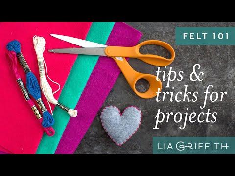Felt 101: Tips & Tricks for Felt Projects