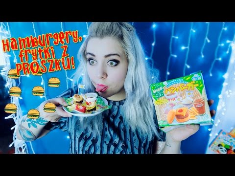 Hamburgery, frytki z proszku! DIY Popin Cookin HAPPY MEAL