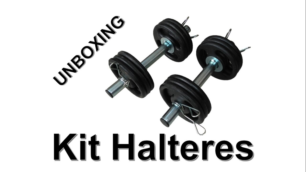 0a60490e7 Unboxing Kit Halteres - Marca Sepo - YouTube
