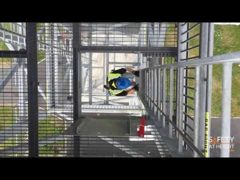 Vi-Go Vertical Fall Arrest Cable System for Existing ladder -   Safety At Height