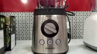 Philips HR2195 Avance Glass Jug Blender - Stainless Steel