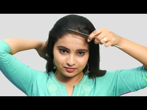 Beautiful Self Hairstyle for girls | Self Hairstyles 2019 | Quick Hairstyles for party/wedding thumbnail