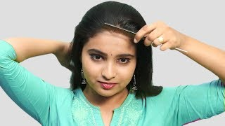 Beautiful Self Hairstyle for girls | Self Hairstyles 2019 | Quick Hairstyles for party/wedding