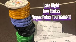 Gambar cover WHY I WILL NEVER PLAY POKER FOR A LIVING -- PLAYING LOW STAKES POKER TOURNAMENTS IN LAS VEGAS
