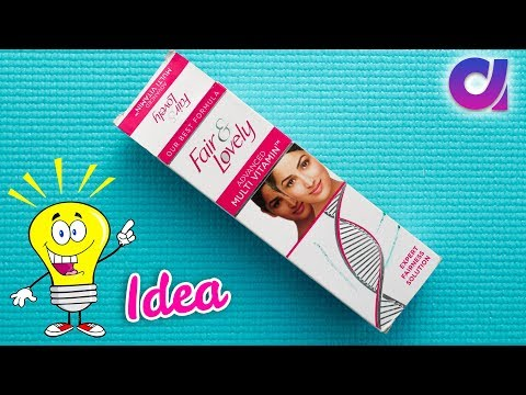 Easy craft: Best out of waste Fair & Lovely packet craft idea   Artkala